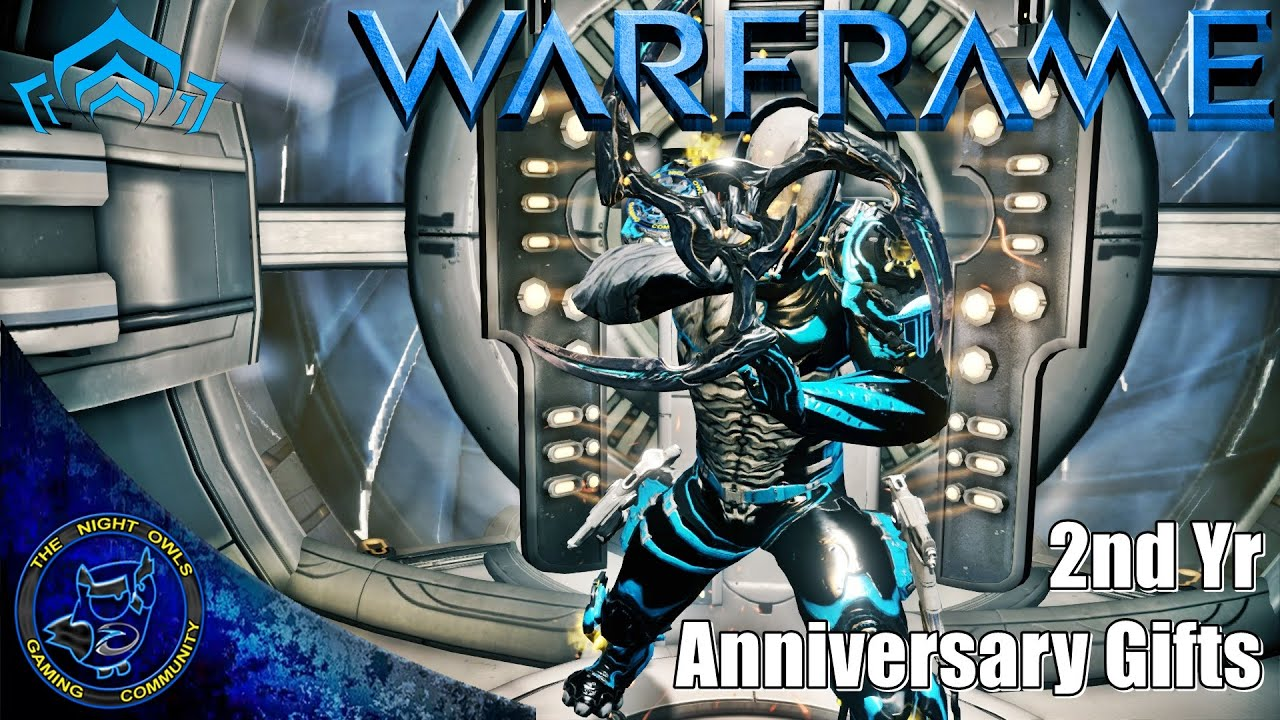 Warframe: 2 Year Anniversary Gifts Now Available - YouTube