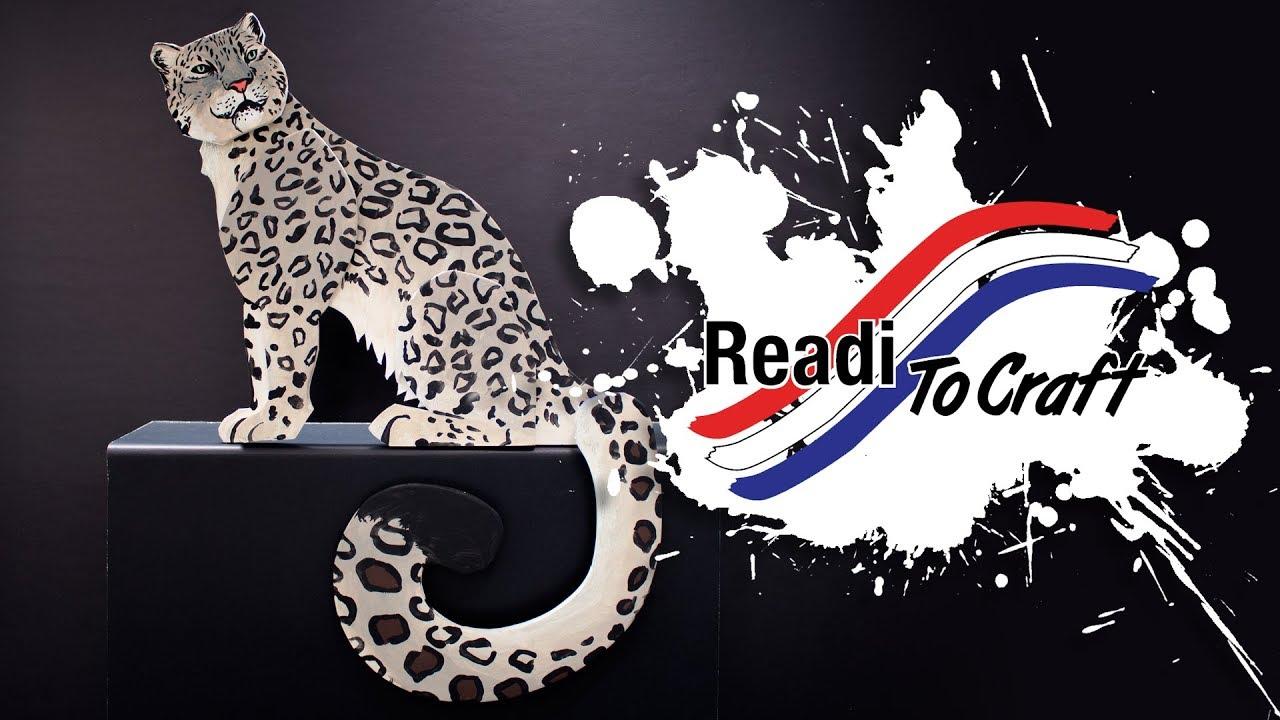 Readi to Craft: Snow Leopard
