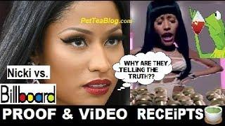 Nicki Minaj Snaps on Billboard & Lies! Her Tour is Cancelled! (PROOF here) ☕