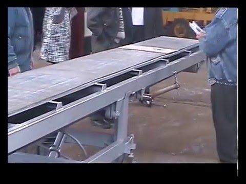 Конвейер ленточный передвижной  У10-УЛТР-10