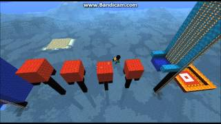 Minecraft - Remake of the Wipeout game show
