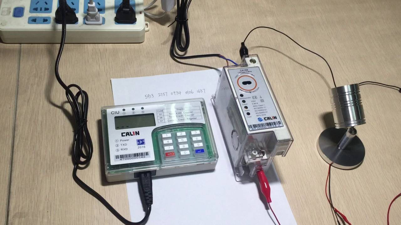 Install Utility Meters : How to install the din rail electricity meter youtube