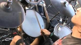 DAMNATION ( JOGJA ) - LIVE DRUM CAM ( hyperblast drumming )