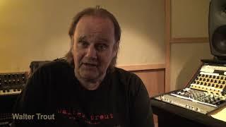 Walter Trout - Regarding Jesse Edwin Davis III  - musicUcansee.com