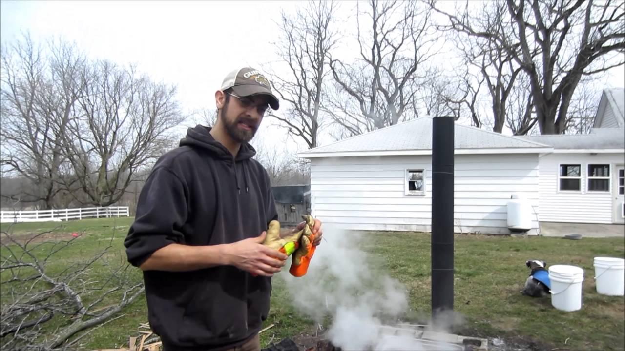 diy backyard maple syrup evaporator youtube