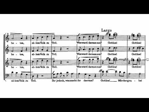 Zoltan Kodaly - Jesus and the traders (Debrecen Chorus)