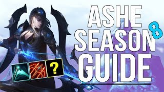 How to Play ASHE in 2018 Ashe Season 8 Guide Build Runes Tips w Timests