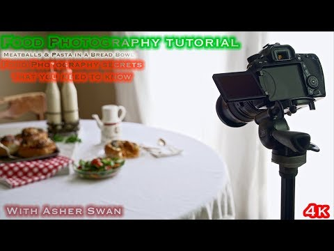 Food Photography Tutorial |Meatball Pasta Bread Bowl|with Asher Swan thumbnail