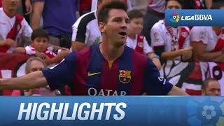 Resumen de Rayo Vallecano (0-2) FC Barcelona  - HD
