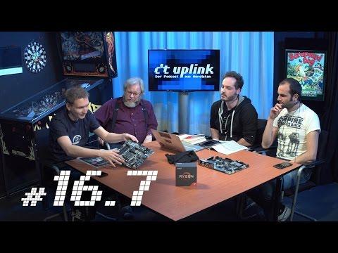 c't uplink 16.7: Industrie 4.0, Wetter-Apps, AMD-Mainboards