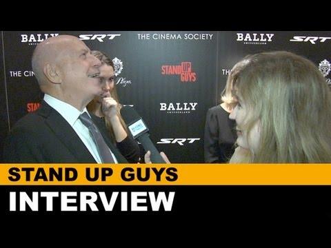 Stand Up Guys Interview - Alan Arkin, Fisher Stevens, Julianna Margulies : Beyond The Trailer