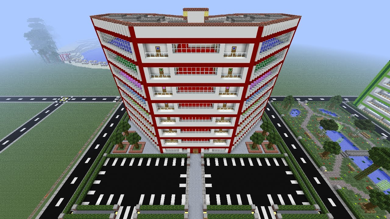 Minecraft IDonPower Beach Hotel