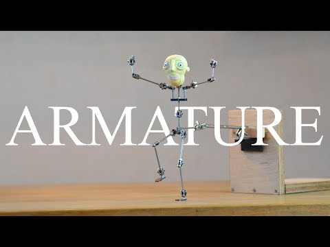 Professional Armature Assembly, Stopmotion Tutorial thumbnail
