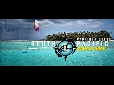 Kiting the South Pacific