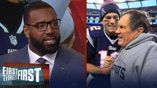 Chris Canty reacts to Bob Kraft calling Brady and Belichick 'GOATS' | NFL | FIRST THINGS FIRST