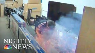 Exploding E-Cigarette Sparks Concern   NBC Nightly News