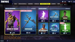 THE *NEW FORTNITE STORE* TODAY OCTOBER 7 *NEW SKINS* OF SPANTAVETORIES AND *NEW GESTONA*