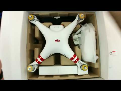 DJI Phantom 3 Standard Refurbished Unboxing