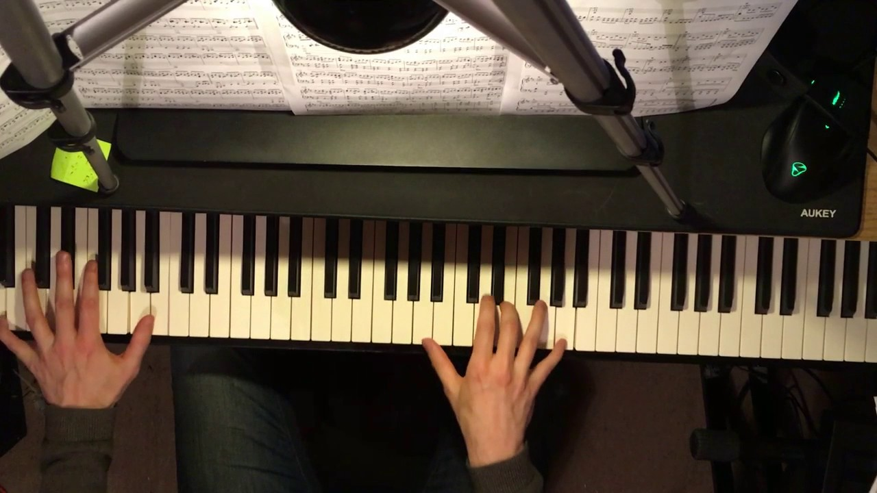 Radiohead Weird Fishes Arpeggi Piano Cover Youtube