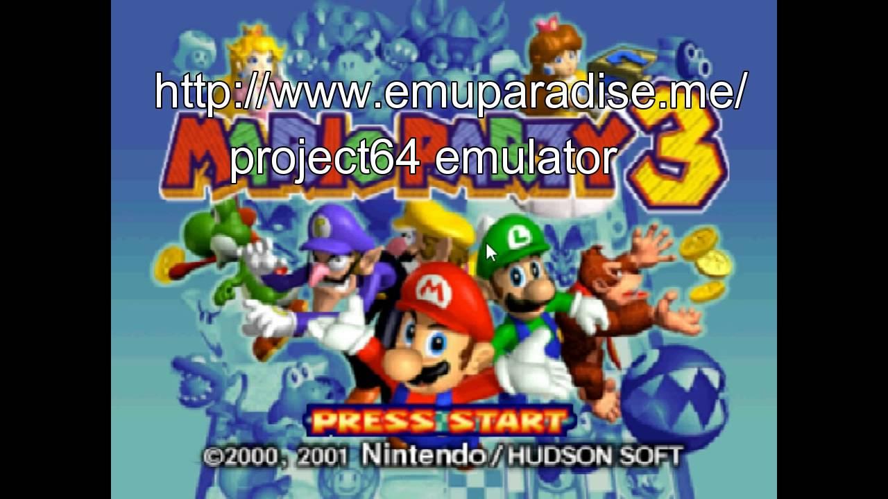 mario party 3 n64 emulator