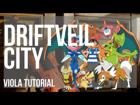 How To Play Driftveil City Pokemon By Hitomi Sato On Viola Tutorial Youtube ホドモエシティ hodomoe city) is a major ocean port city in western unova. youtube