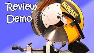 DeWalt DW872 metal cutting saw review and demo
