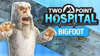 Two Point Hospital PL | Symulator Szpitala #6 - DLC Bigfoot ( Psialeństwo )
