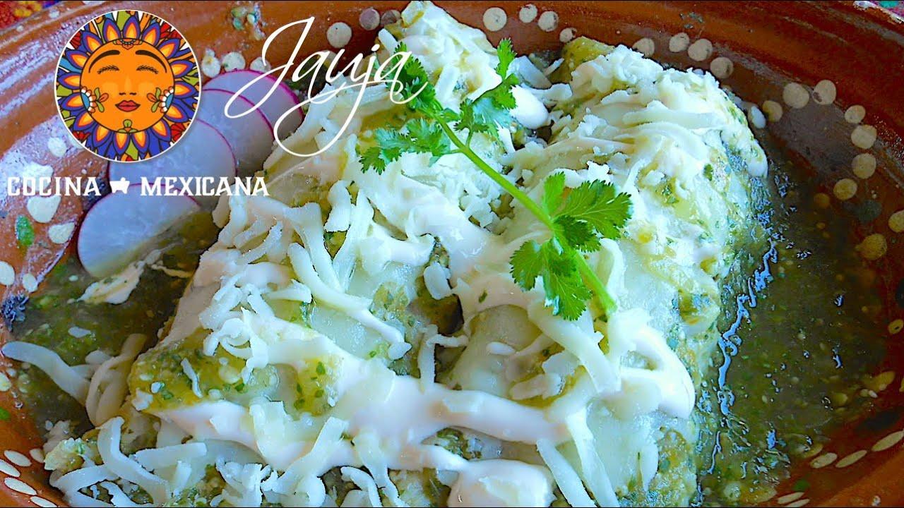Enchiladas Verdes de Pollo  YouTube