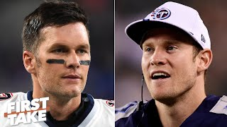 Who is the better QB is right now: Tom Brady or Ryan Tannehill? | First Take