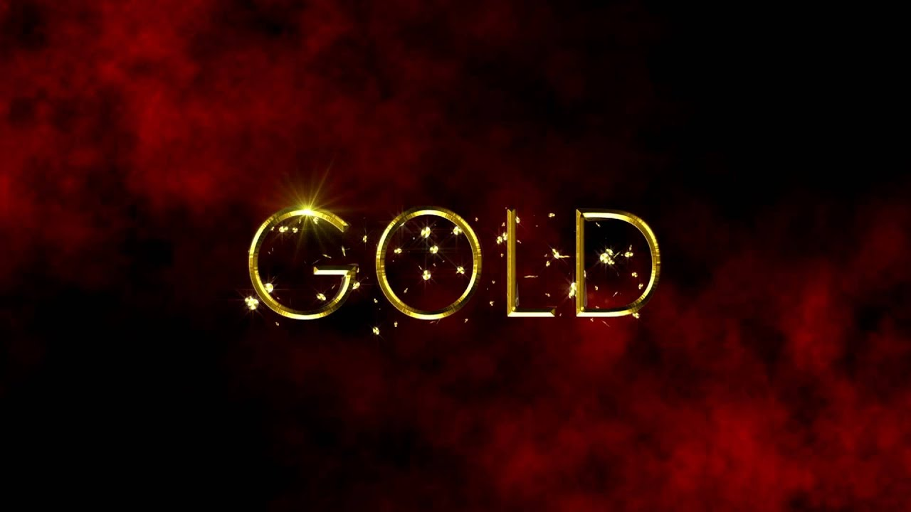 Free HD After Effects Project: Golden Text - YouTube