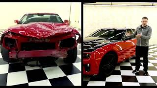 CHEVROLET CAMARO PROJECT - ПОЛНОЕ восстановление автомобиля после ДТП.  Финал: Выдача автомобиля