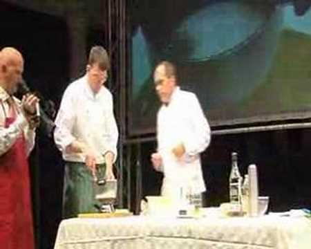 Cucina molecolare gel con fecola di patate  YouTube
