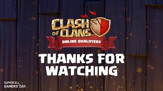 Supercell Gamer's Day: Kualifikasi Online Clash of Clans [Day-1]