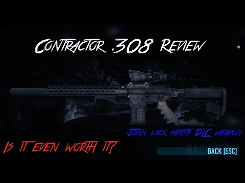 Payday 2 Contractor 308 sniper rifle review