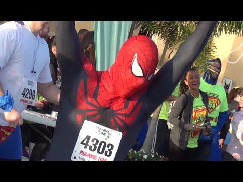 Superior Spider Man Runs Superhero 5K Real Life Charity