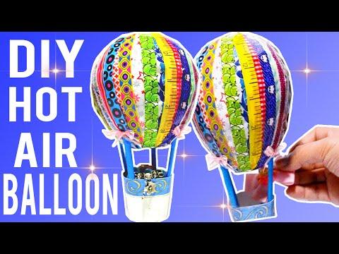 DIY Easy Hot Air Balloon Decor!