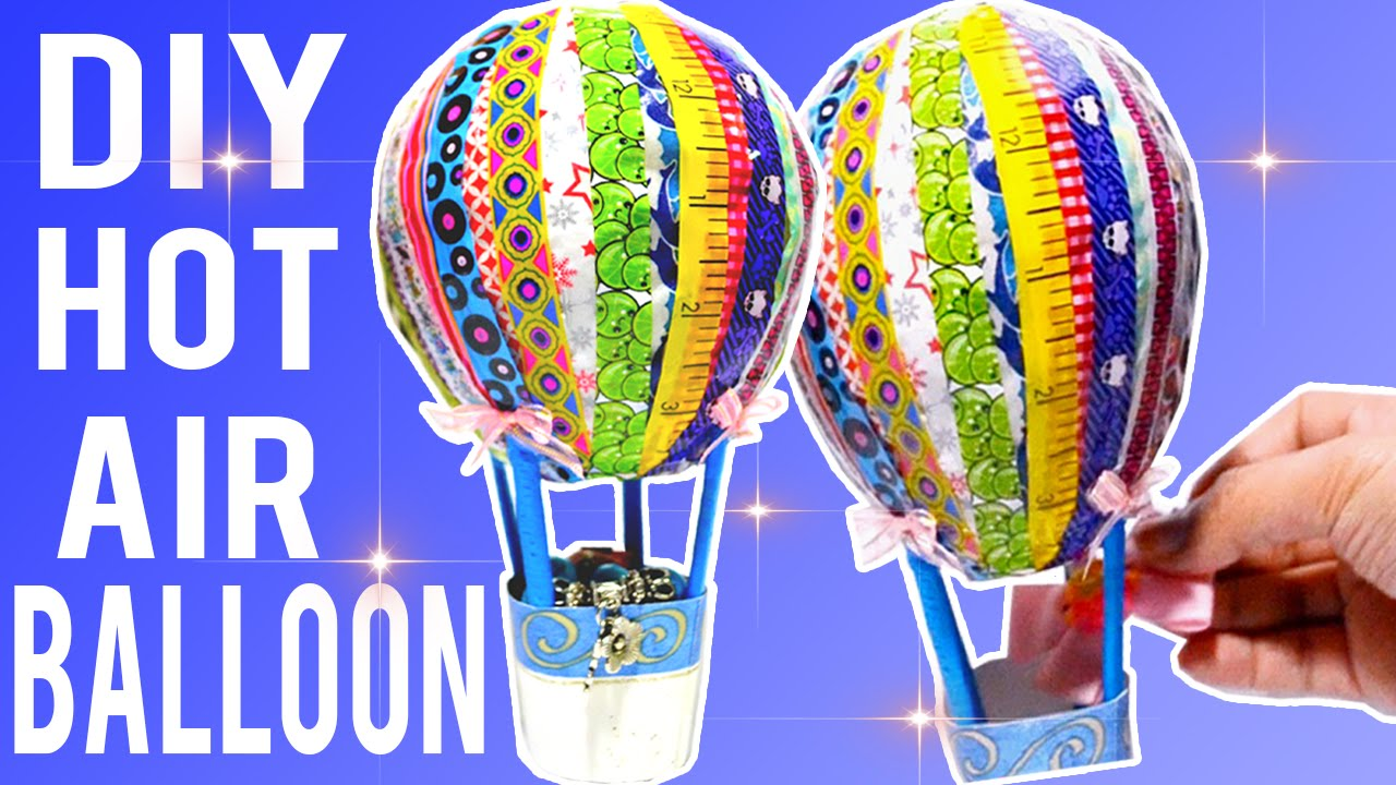 DIY Easy Hot Air Balloon Decor! - YouTube