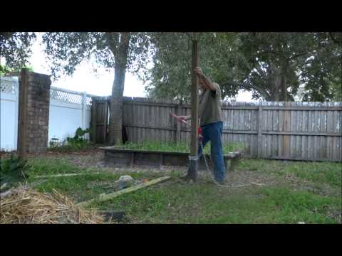 Easy Way to get a Pole Out of the Ground