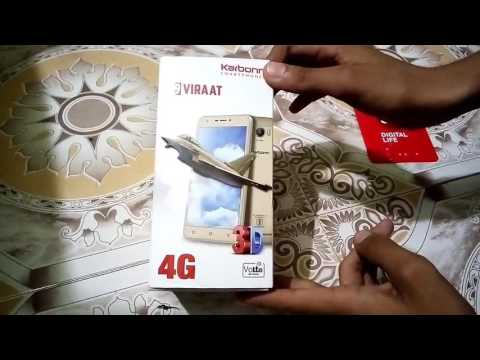 Karbonn K9 Virat 4g unboxing quick  review | yash sharma