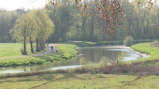 Nieuwe fietsbrug over de Mark verbindt landgoed de Klokkenberg met Ulvenhout