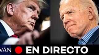 DIRECTO: Último debate electoral entre Trump y Biden