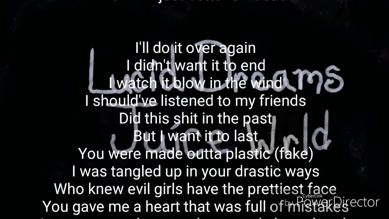 Lucid Dreams - Juice Wrld (Lyrics) - YouTube