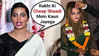 Arshi Khan Insults Rakhi Sawant When Asked About Her Wedding