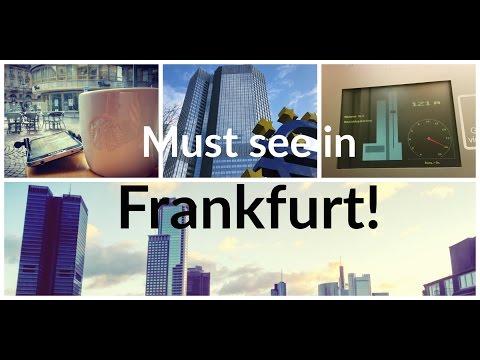 Must see in Frankfurt! || Travel Vlog #3
