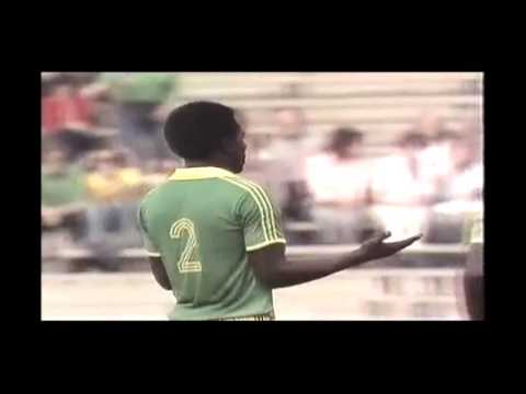Zaire v Brazil 1974 World Cup. Free-kick