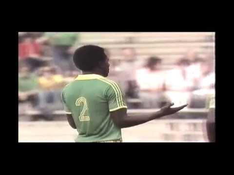 Zaire v Brazil 1974 World Cup. Freekick