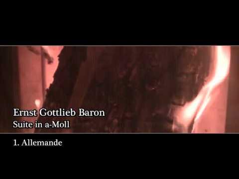 Ernst Gottlieb Baron - Suite In Am 2 Allemande