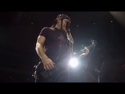 Metallica's Trujillo and Kirk Hammett tried to play ABBA's Dancing Queen in Sweden..