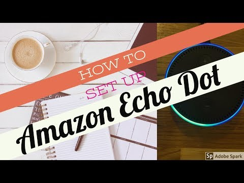 How to setup Amazon Echo Dot using an IPhone or Ipad on IOS.