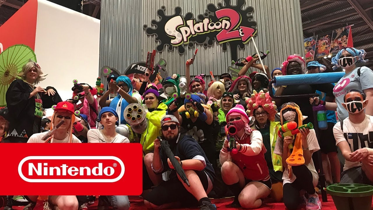 Join Nintendo at UK Events throughout 2018